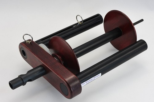 WooLee Winder for Kromski Double Drive - Red Mahogony