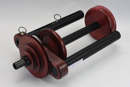 WooLee Winder for Kromski Single Drive - Red Mahogany Stain